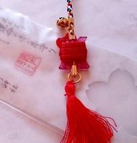 運命の赤い糸縁結び守り