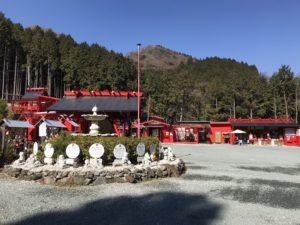宝来宝来神社全景(阿蘇宝くじが当たる神社)